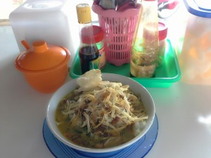 bubur ayam chicken pouridge indonesia bybyelle.wordpress.com