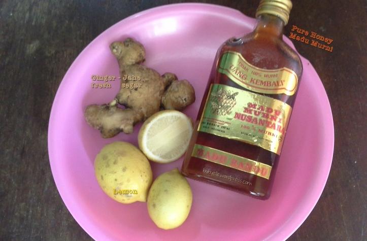 ginger honey lemon _bybyelle 20151215