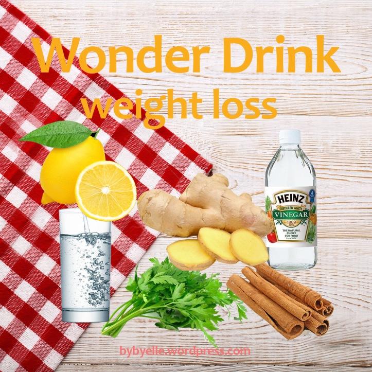 Wonder Drink Weight Loss _bybyelle wordpress